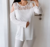 Alba Moda Lace Top white