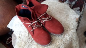 Claudia Ghizzani Ankle Boots russet mixture fibre