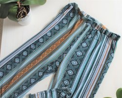 Palazzo Pants multicolored polyester
