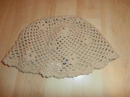 H&M Gorro tejido beige-camel tejido mezclado