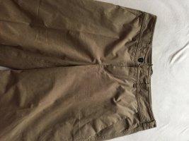 Strenesse Spodnie Marlena szaro-brązowy Bawełna