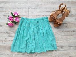 Cache & Cache Mini-jupe vert menthe-rose