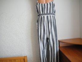 Denim 1982 Pantalon en lin multicolore coton