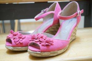 Sommer Peep-Toe Schuhe TAMARIS