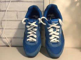 Sommer Reebok Classic Blau Schwarz Sneaker