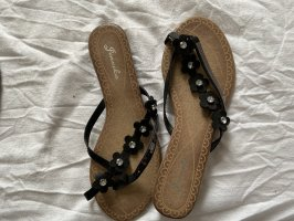 Beach Sandals black-brown