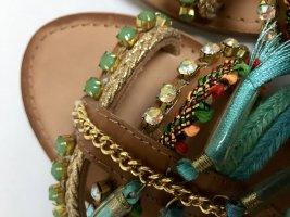 Sommer Sandalen Leder Neu
