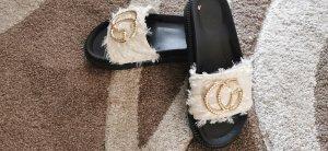 Beach Sandals cream