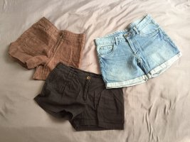 Sommer Shorts Auflösung - Jeans Hellblau