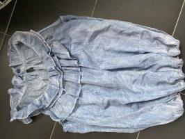 Benetton Blouse à manches courtes bleuet