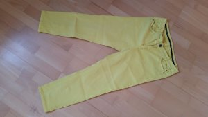 Marc Cain Five-Pocket Trousers yellow cotton