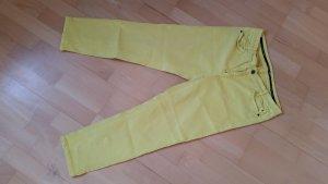 Marc Cain Pantalone cinque tasche giallo Cotone