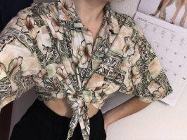Sommerhemd zum Binden Vintage 80s