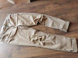Esprit Pantalon boyfriend brun sable-marron clair coton