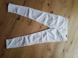 Benetton Pantalon cigarette blanc