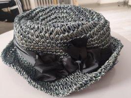 Kookai Sombrero de ala ancha azul aciano