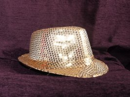 Trilby gold-colored