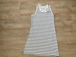 bpc bonprix collection Sukienka plażowa biały-ciemnoniebieski