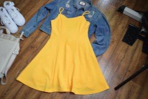 Sommerkleid gold-orange Gr. 38 Shein