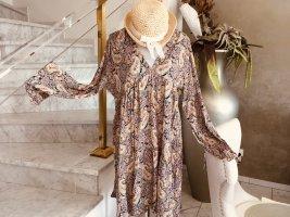 100% Fashion Robe courte multicolore