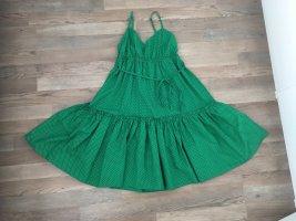 Flounce Dress green
