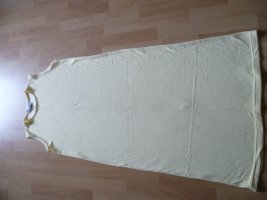 Sommerkleid Shirt Kleid gerader Schnitt vanille Gr.46