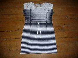 Sommerkleid von AJC - Gr. 38 - blau/weiß gestreift - Neu