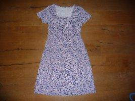 Cheer Sukienka z dżerseju niebieski Bawełna