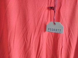 Peckott Summer Dress red-brick red polyester