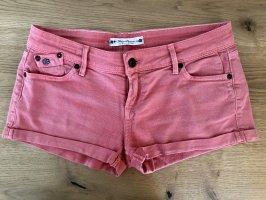 Roxy Denim Shorts salmon cotton