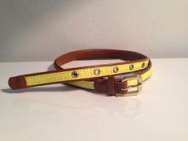 H&M Fabric Belt cognac-coloured-primrose