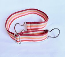 Mexx Cinturón de lona multicolor tejido mezclado