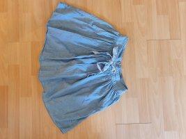 New Yorker Spódnica z koła biały-błękitny