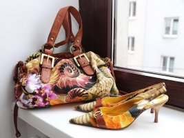 Sommerliches Cavalli Set - Tasche+Schuhe