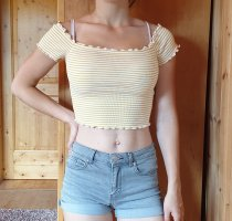 sommerliches Cropped Shirt