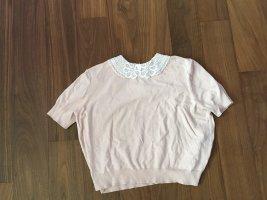 Camicia maglia rosa antico