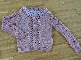Ermanno Scervino Jersey trenzado rosa
