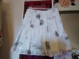 Apanage Spódnica midi biały-szary
