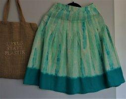 Sommerrock, Batik-Style, A-Linie, knielang