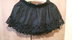 Sommerrock dunkelblau schwarz