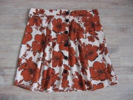 Pimkie Circle Skirt cream-russet