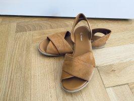 Graceland Comfortabele sandalen bruin