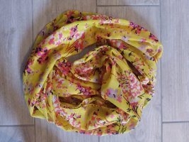 Pieces Summer Scarf yellow-pink