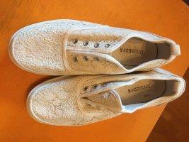 H&M Slip-on Shoes white-cream