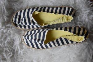 H&M Divided Espadrille Sandals oatmeal-dark blue