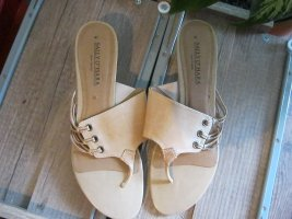 Sally O'Hara T-Strap Sandals sand brown