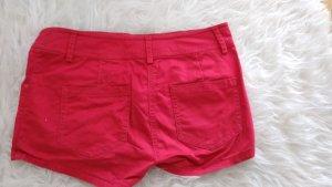 H&M Pantalón corto rojo