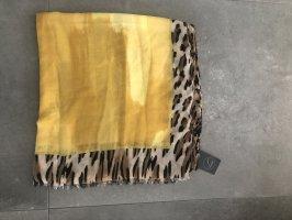 Cream Pañoleta amarillo-marrón