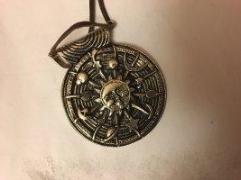 Pendentif doré-bronze métal