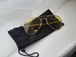 Sonnebrille gelb getönt